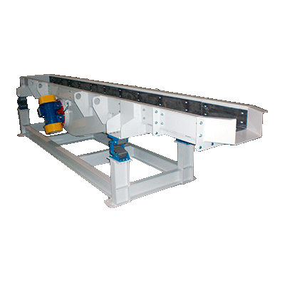 Vibrating Feeders Made in S235JR, AISI304, AISI316 or Wear-resistant steel