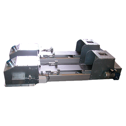 Weighing Belt suitable for powders and granules of different materials. Possibility to choose within a range of belts in different materials: PVC (standard), Food Grade White and anti-abrasion