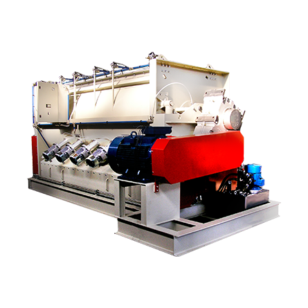 Batch Mixer made in AISi 304 - AISI 316 - S235JR - Wear-resistant steel