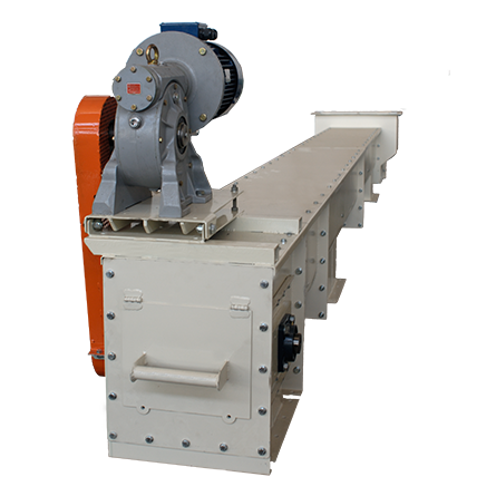 Radler Chain Conveyors with Paddles in plastic, S235JR, AISI 304, AISI 316 or Wear-resistant steelPaddle in plasì