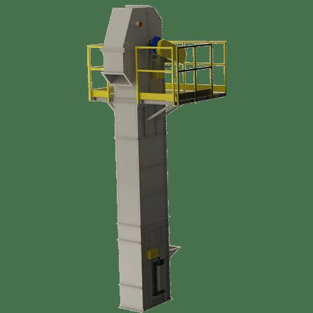 Bucket Elevator with Motorgearbox